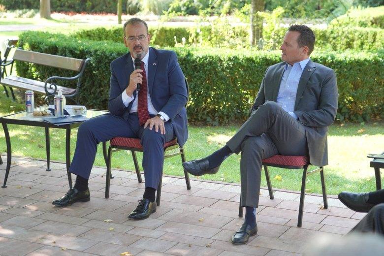 US Ambassador to Serbia Anthony Godfrey and Richard Grenell