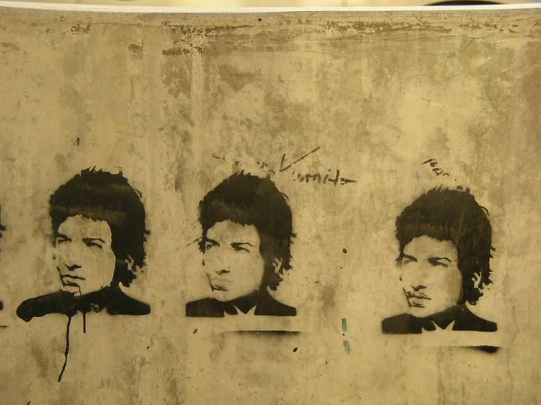 Bob Dylan in Lincoln Square (Photo: Mac3, CC)