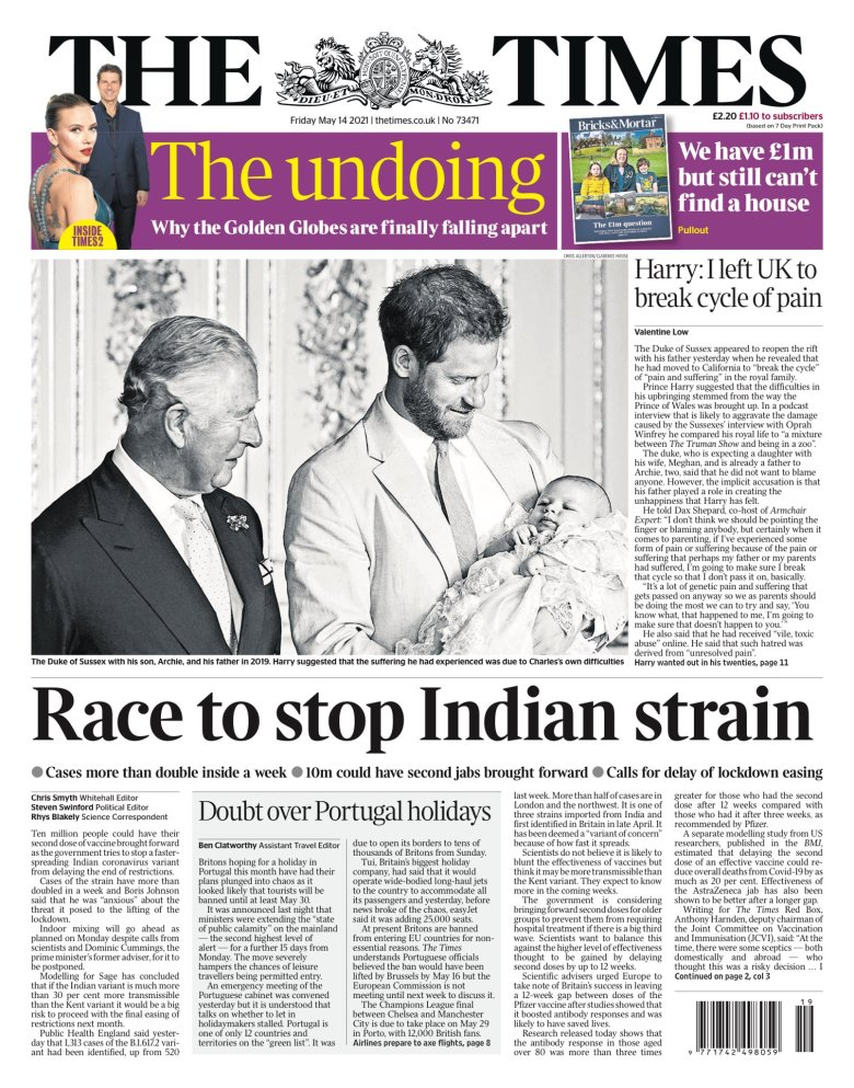 The Times, May 14 2021
