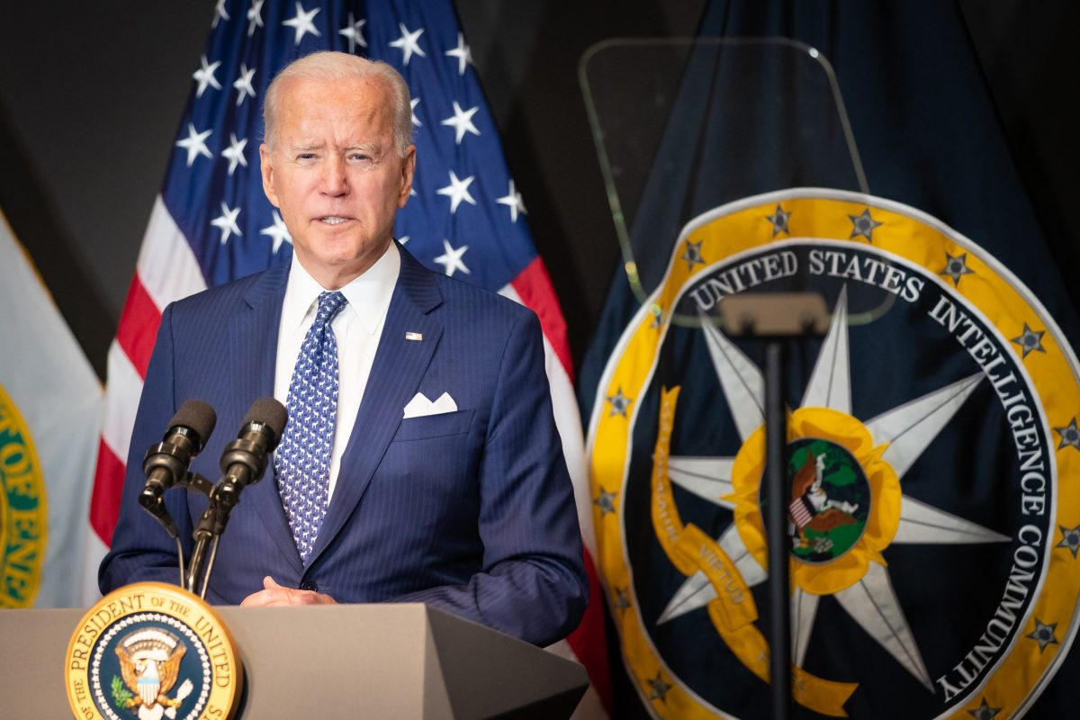 President Biden speaks to the Intelligence Community workforce thanking them for their service and dedication to the mission.
