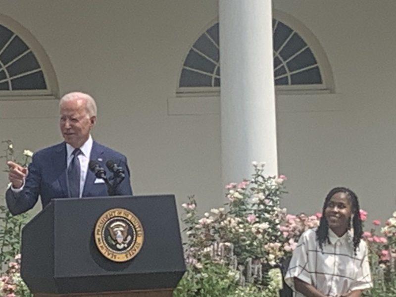 Joe Biden speaks about ADA