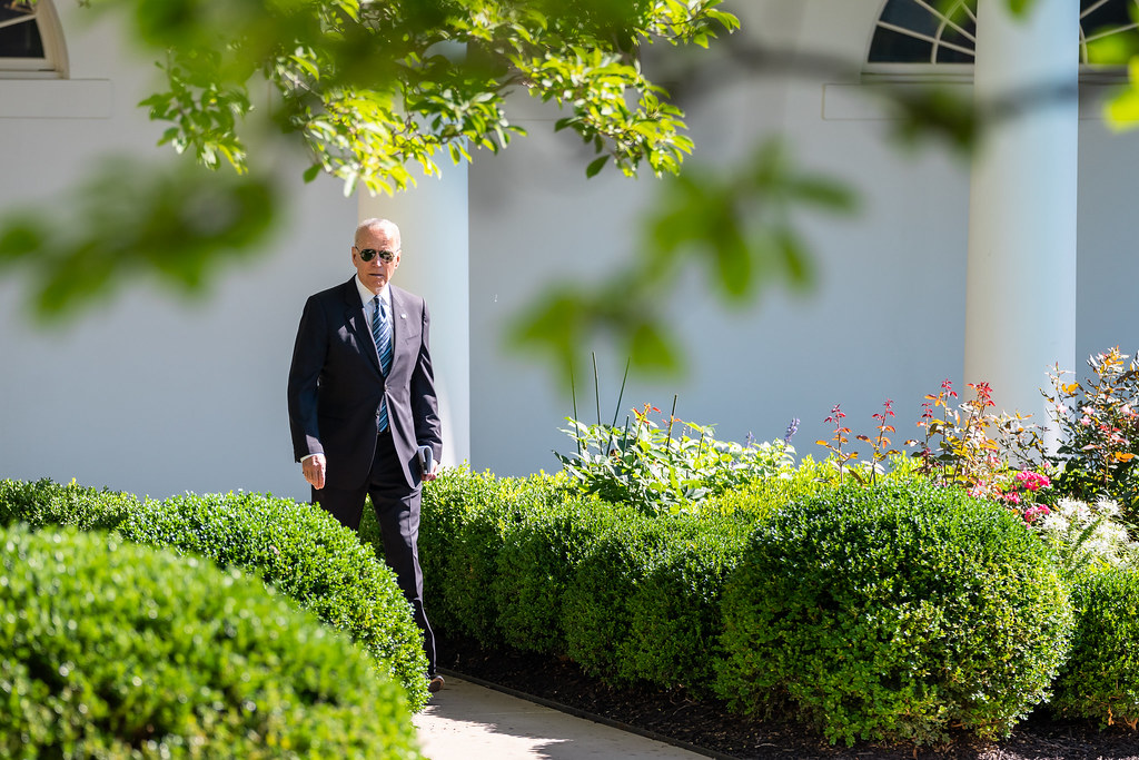 President Joe Biden (Photo by Adam Schultz)