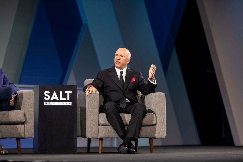 At SALT NY, O'Leary makes a bold call to regulators to get involved as soon as possible with the crypto community and provide guidance to investors/ Photo: John Roach (RBP)