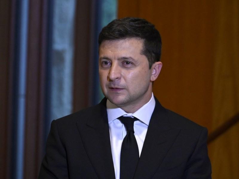 President of Ukraine Volodymyr Zelenskyy