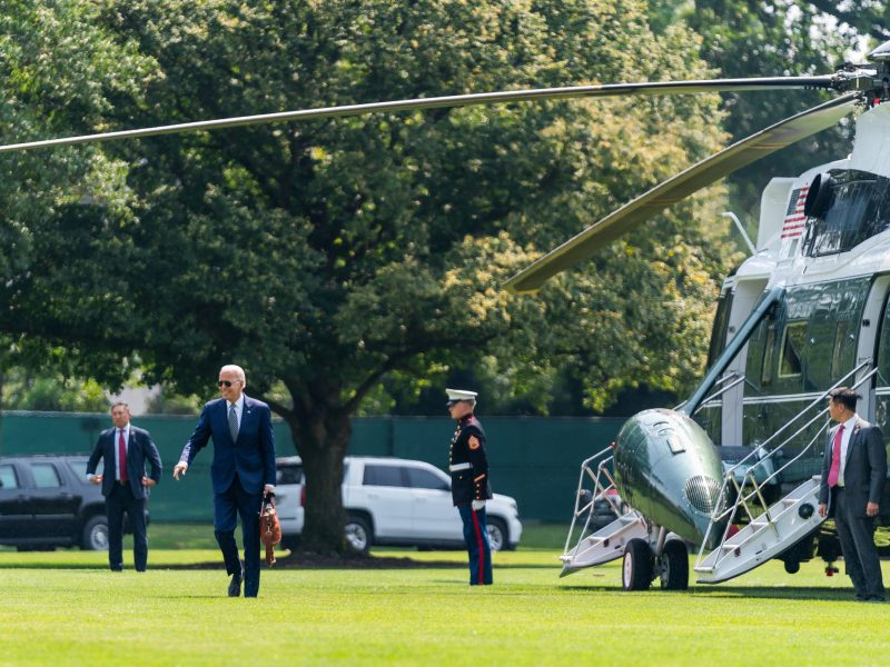 Biden heads to New Jersey