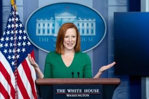 WATCH LIVE: Jen Psaki Briefs The Press