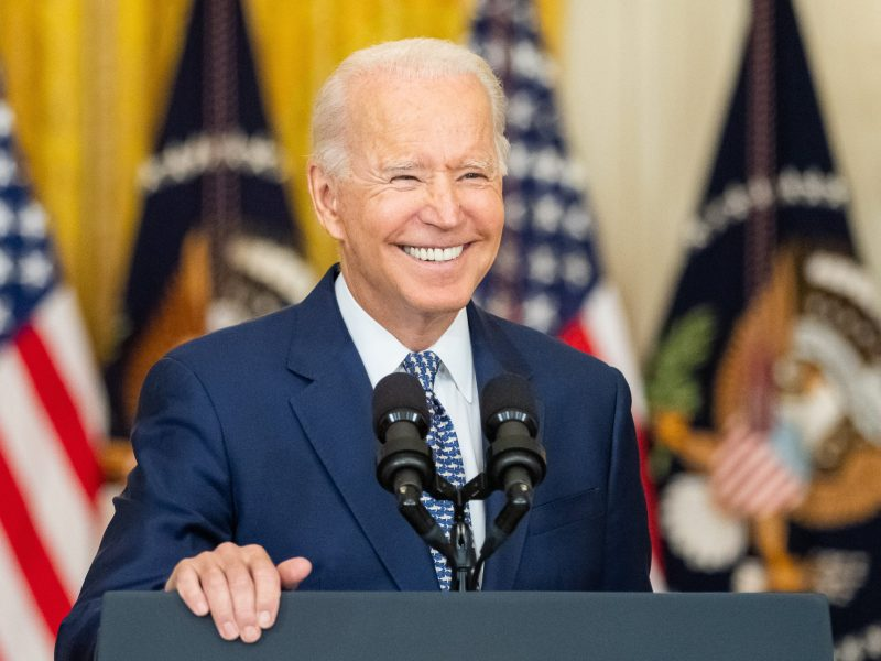 Biden says that he still needs to make sure there is a debt ceiling deal.