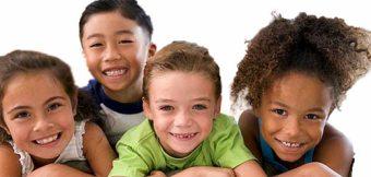 Four-Happy-Children