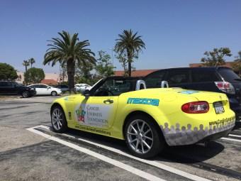 Cancer Journeys Foundation Mazda Miata