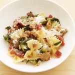Weight Watchers Recipe: Bowtie Pasta with Sausage and Escarole
