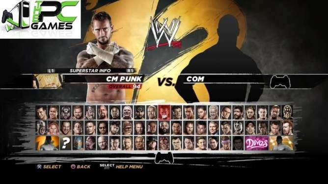 WWE '12 Pc Game