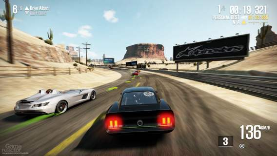 Need for Speed Shift 2 Unleashed gameplay