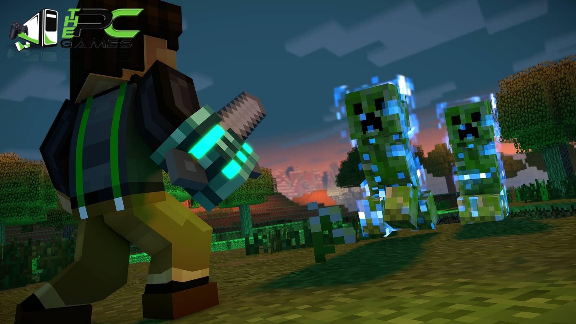 Meteors Falling Wallpaper Minecraft Story Mode Season Two Episode 1 Pc Game Free