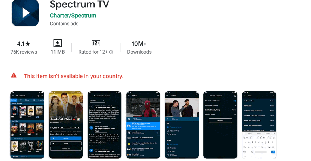 Free Download Spectrum TV App For PC ( Windows And Mac)