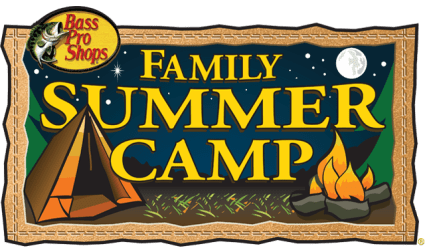 camp bass pro summer shops activities events fun special basspro freebies camps lake through june july mom thursday saturday sunday