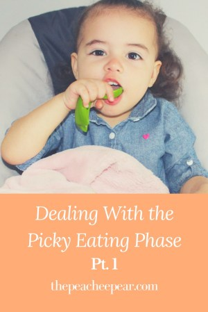 How we're dealing with the picky eating phase and how we're getting through it.