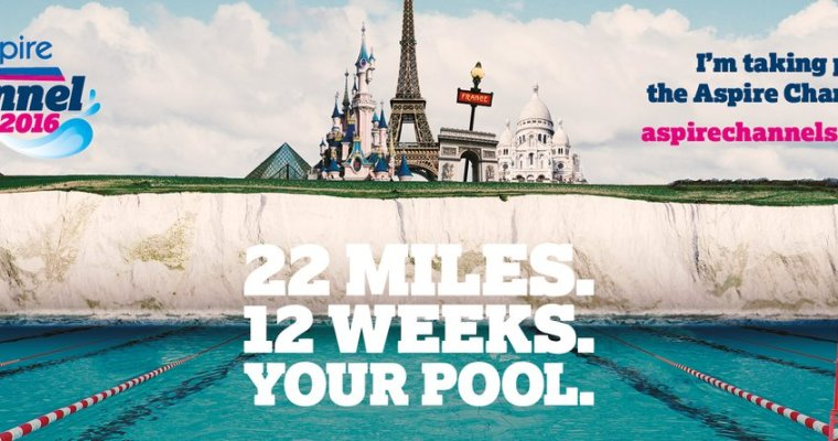 Aspire Channel Swim 2016 – Sign up now!!