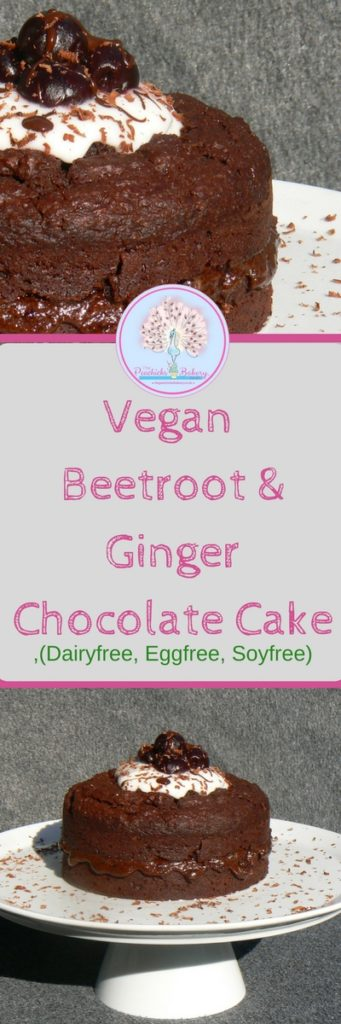 Perfect for chocolate lovers, this Vegan Beetroot & Ginger Chocolate Cake is dark, gooey & filled with beautiful Autumnal flavours! Dairyfree & Eggfree too!