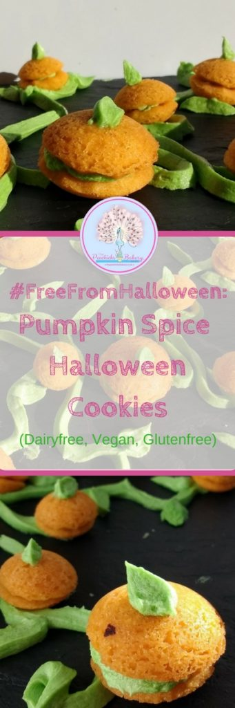 Make your very own pumpkin patch with these Pumpkin Spice Halloween Cookies! Made from Glutenfree & Vegan Viennese Whirl dough for #FreeFromHalloween