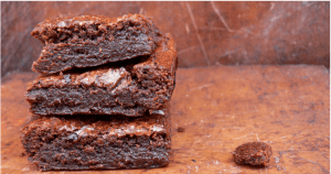 Craving a dark, sticky chocolate Brownie but without the dairy, eggs or gluten? Then whip up a batch of these Easy Gluten-free Vegan Fudge Brownies from @PeachicksBakery.  Noone will ever know they are Top14free so unless you want to share, best find a quiet corner to enjoy them! #eggfreebaking #easyeggless #dairyfree #eggfree #vegan #veganbaking #fudgybrownie #glutenfree #withoutgluten