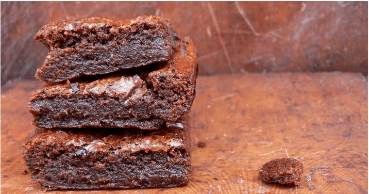 Easy Gluten-free Vegan Fudge Brownies (Dairy-free Egg-free)