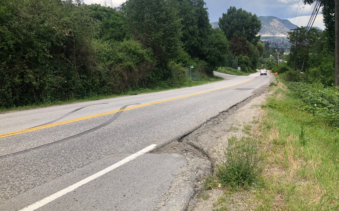 Long road ahead for safer sidewalks in Peachland
