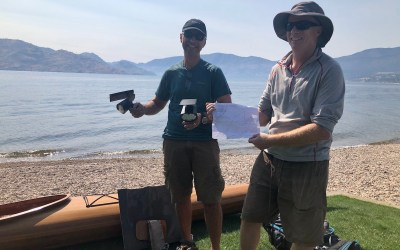 Mission Accomplished: Peachlanders find mystery solar lights on Okanagan Mountain