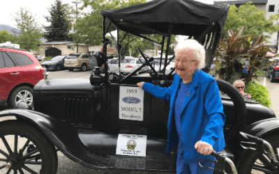 An adventurer, entrepreneur & five-generation matriarch: A Peachlander tells us about her 101 year-old mom