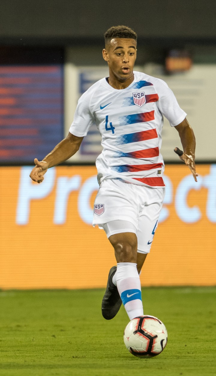 Tyler Adam S First International Goal Helps Usa Past