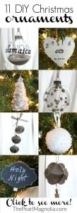 11 Easy DIY Christmas Ornaments