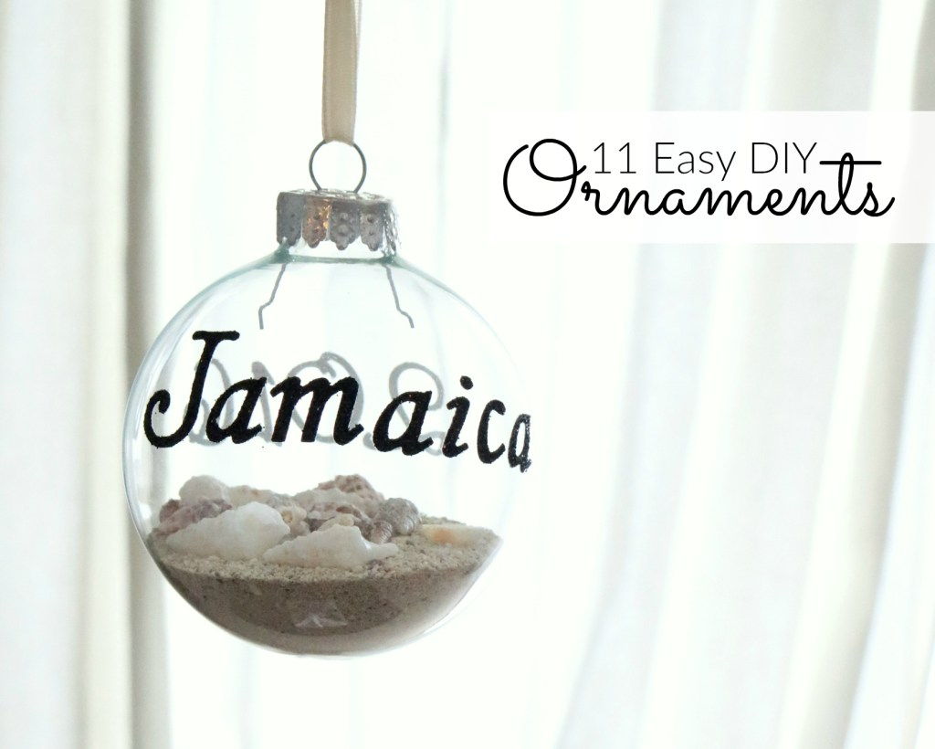 11 Easy DIY Ornaments