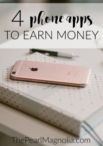 4 apps to earn extra money