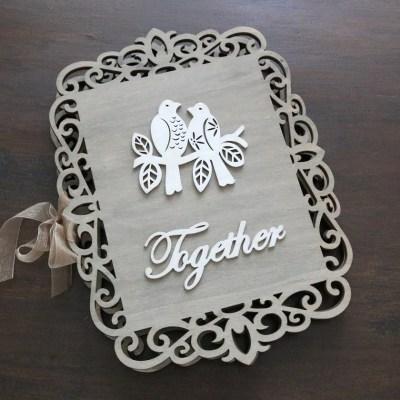 DIY Wedding Guestbook