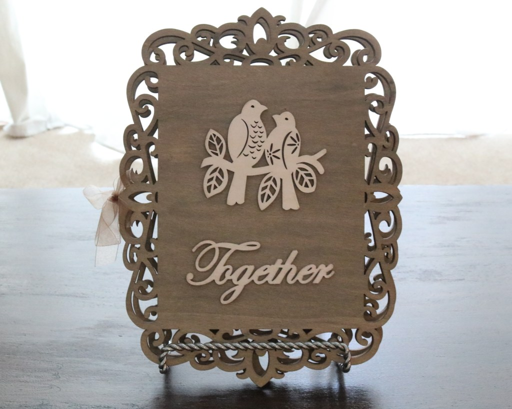 DIY Wedding Guestbook - Love Birds, Together!