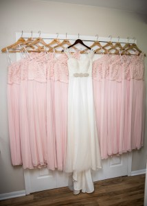 Bridesmaid Dresses and Wedding Dress