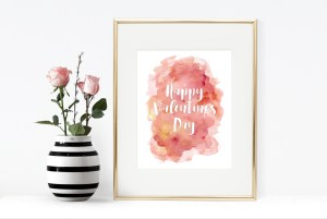 Happy Valentine's Day Free Printable