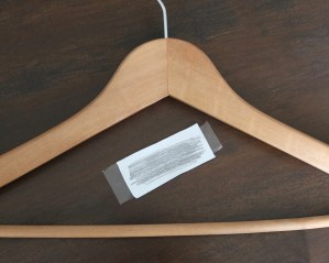 DIY Personalized Bridesmaid Hangers