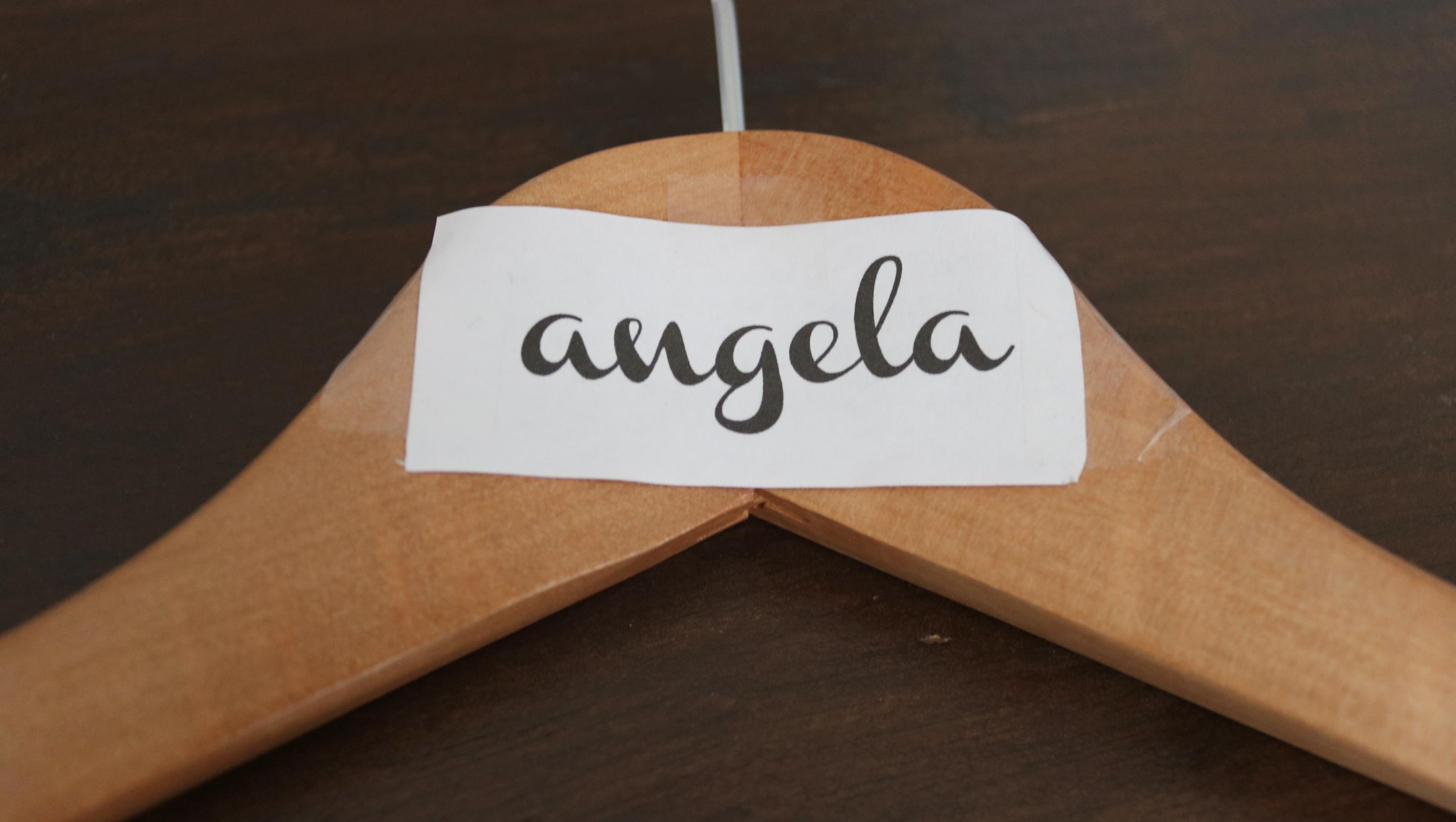 DIY Personalized Bridesmaid Hangers
