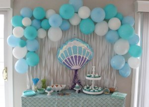 Under the Sea Party Sweets Table