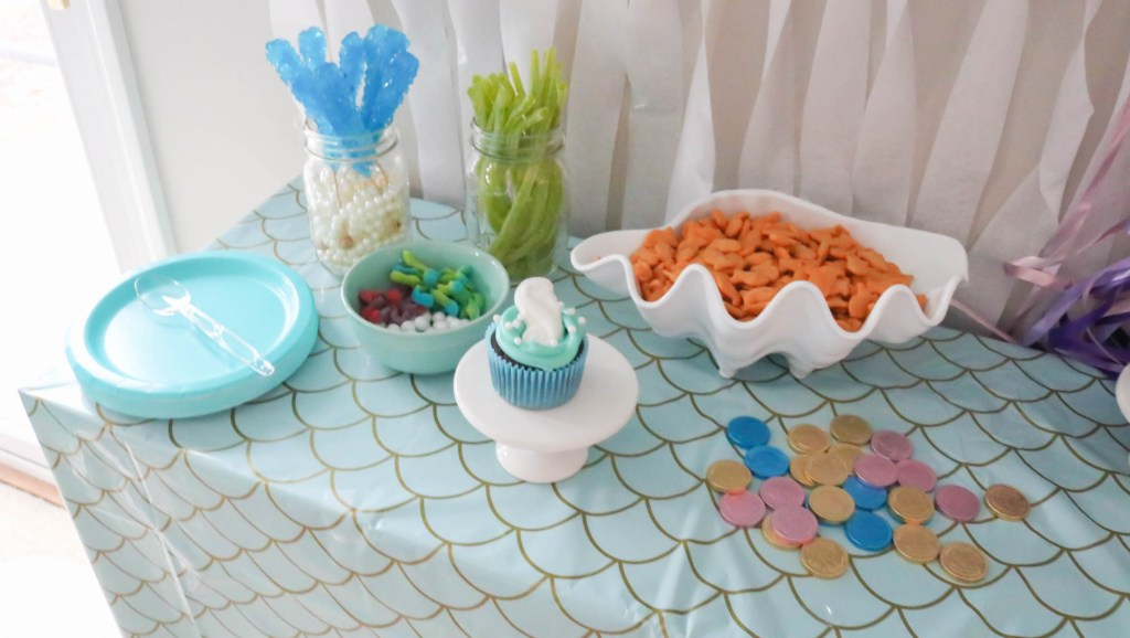 Under the Sea Snack Table