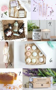 Mother's Day Spa Gift Ideas