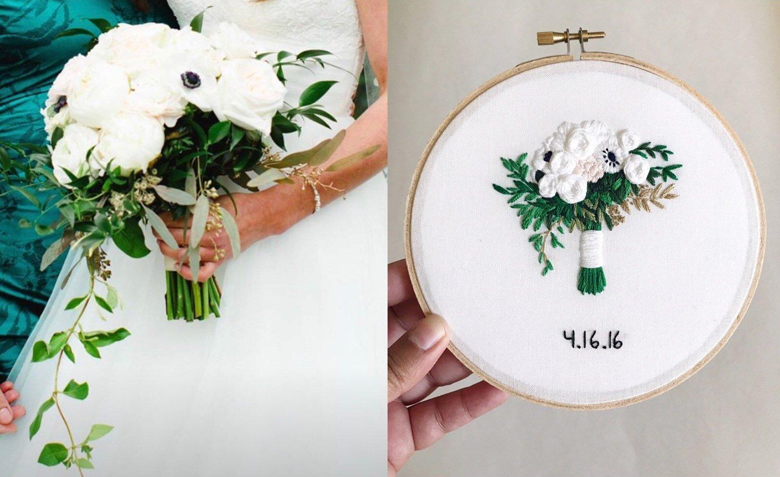 kimart wedding bouquet hoop