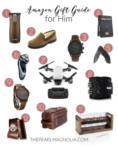 Amazon Gift Guide for Him