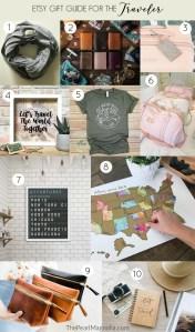 Etsy gift guide for the traveler
