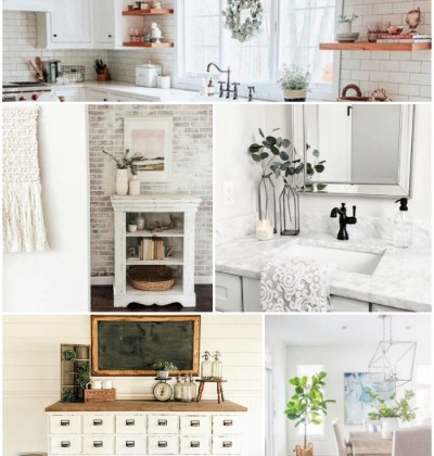 10 Beautiful Home Decor Instagram Photos + Farmhouse Cottage Decor Finds
