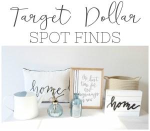 Target Dollar Spot Finds