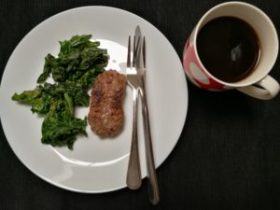 Whole30 Day 4, Breakfast Sausage