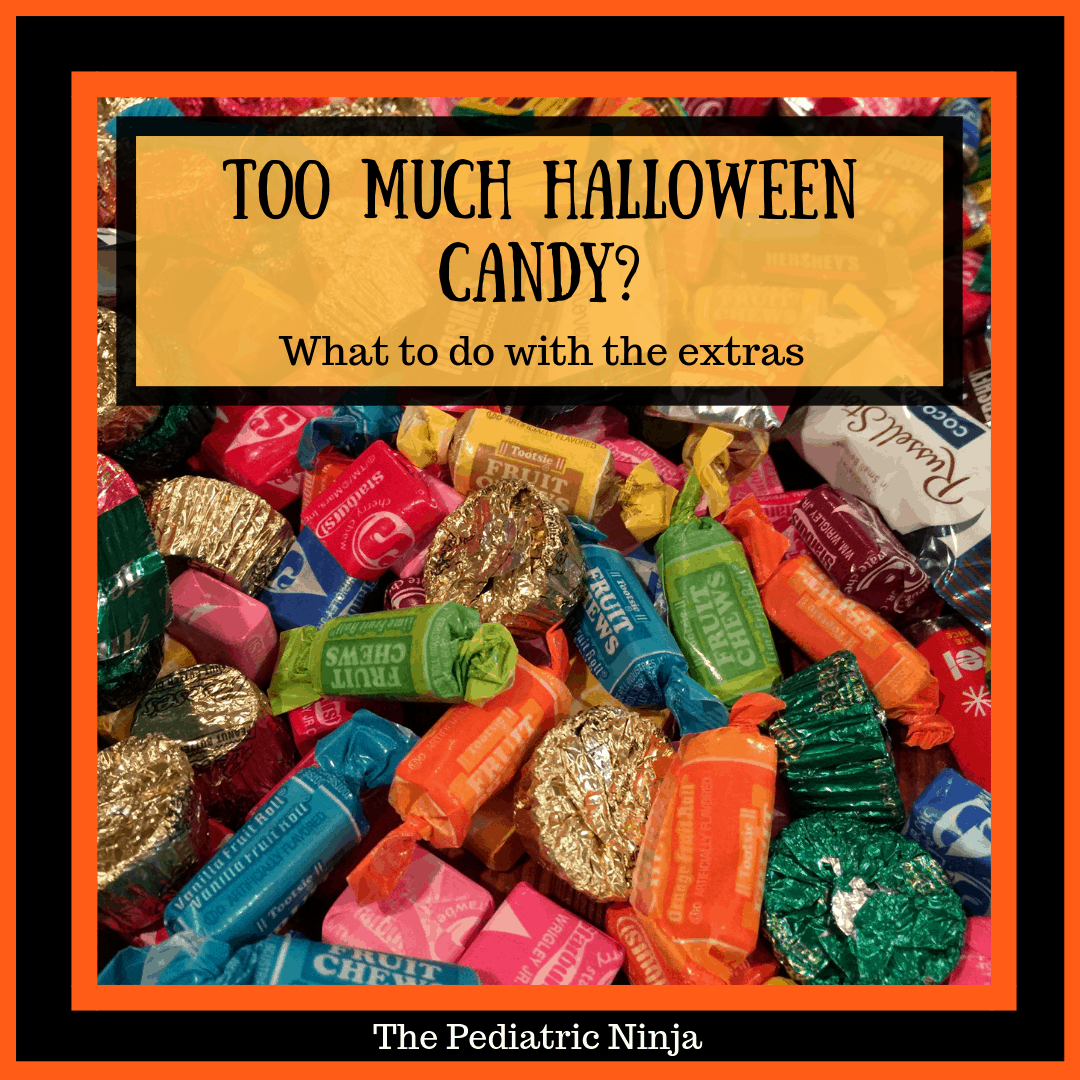 Too Much Halloween Candy? What to do with the extras