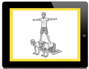 Balance it task card resource for pe teachers the p e geek - Uur pm balances ...