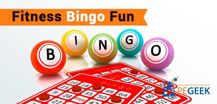 fitness bingo fun the